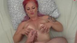 Lilly-de-Rosa - Süßer Dirtytalk - Wixx auf meine Titten