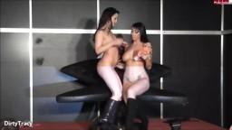 DirtyTracy - Lesbo-Aktion mit Maria Mia