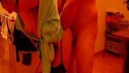 MaskenPaar79 - Beim Wäsche aufhängen gefickt