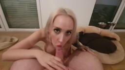 StellaCinderella - Spritz mir auf die neuen Titten geile Ficksahne fuer mich